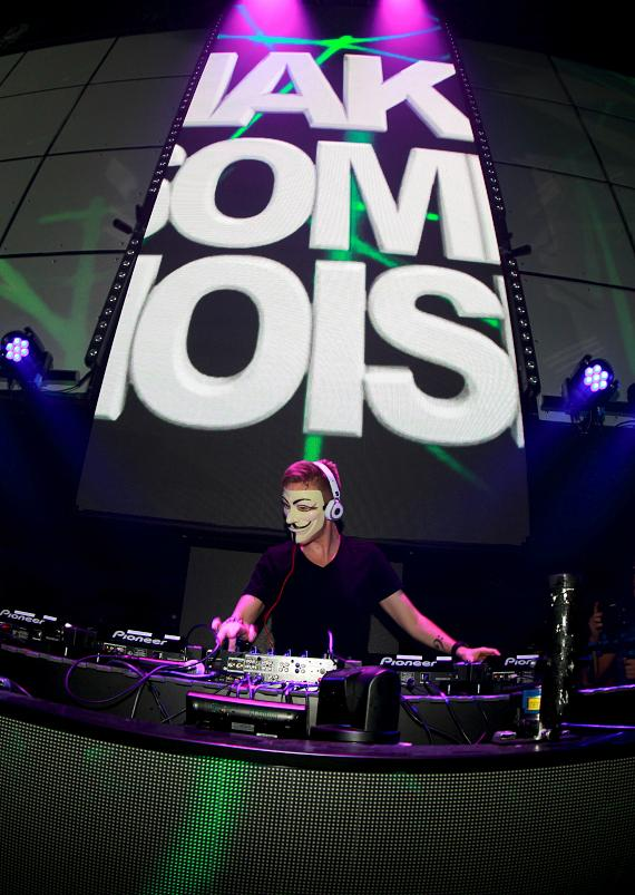 Nicky Romero at LIGHT Nightclub at Mandalay Bay in Las Vegas