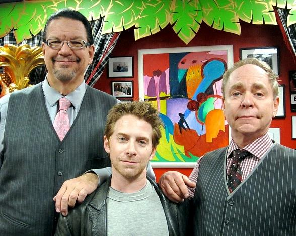 Actor Seth Green attends Penn & Teller at Rio All-Suite Hotel & Casino