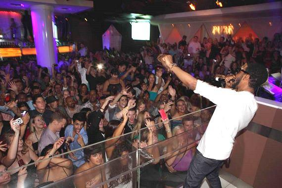 Kid Cudi Performs at PURE Nightclub