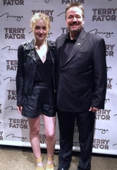 Dakota Fanning celebrates 21st Birthday at Terry Fator: The VOICE of Entertainment at The Mirage