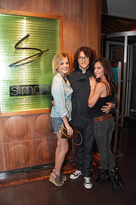 General Hospital's Kelly Monaco and Kirsten Storms with Kerry Simon