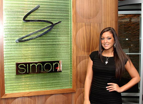 "Jersey Shore's Sammi ""Sweetheart"" Giancola at Simon's Place"