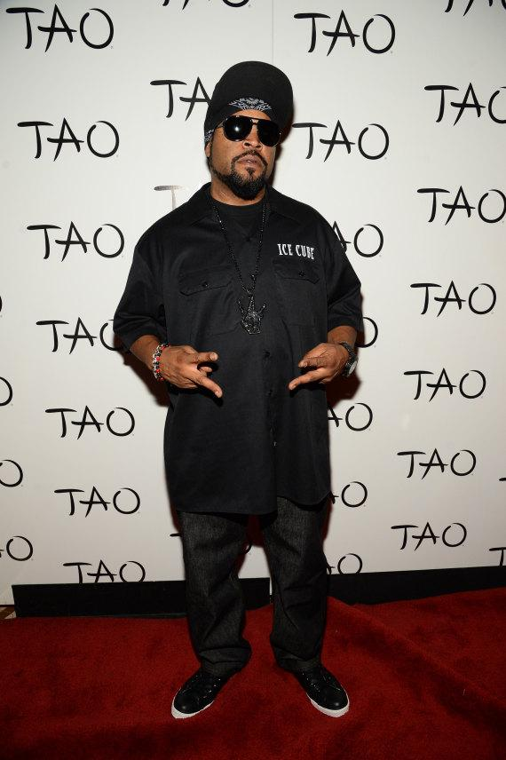 Ice Cube on red carpet at TAO Nightclub in Las Vegas