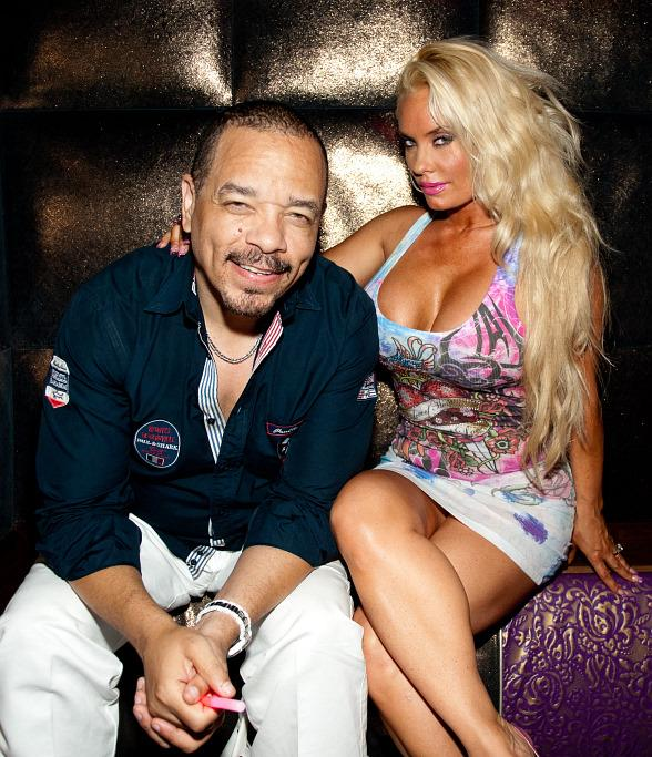 Ice T and Coco Celebrate July 4th at Marquee