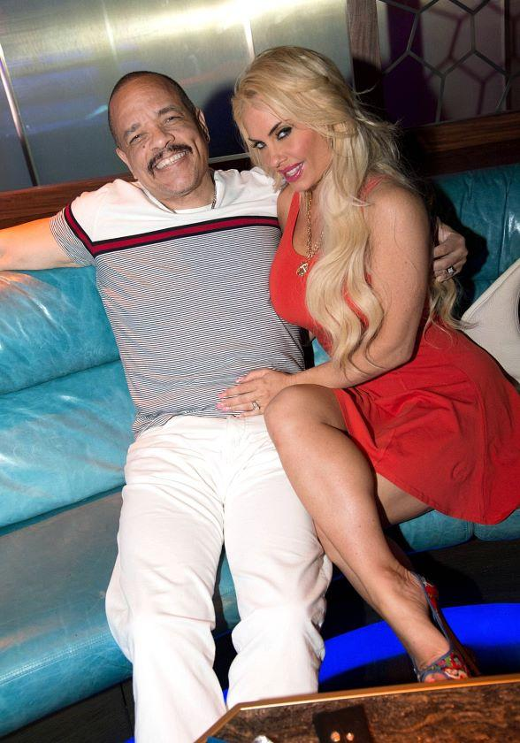 Ice-T and Nicole &quot;Coco&quot; Austin Party at Ling Ling Club in Hakkasan Nightclub 