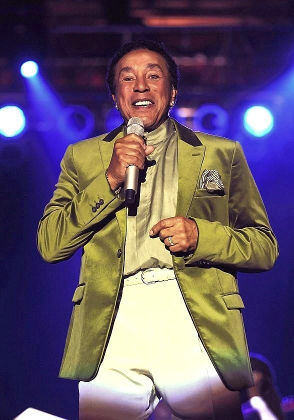 Smokey Robinson Performs at Eastside Cannery