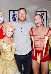 "Imagine Dragons' Dan Reynolds attends ""O"" by Cirque du Soleil"