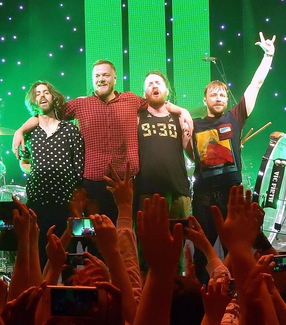 Imagine Dragons & The Tyler Robinson Foundation Team Up at The 2018 Allstate Sugar Bowl to Drive Awareness for Pediatric Cancer Support