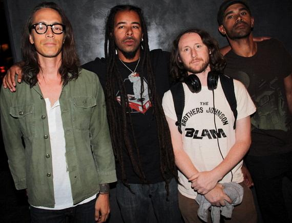 Incubus hangs out at Hard Rock Hotel & Casino