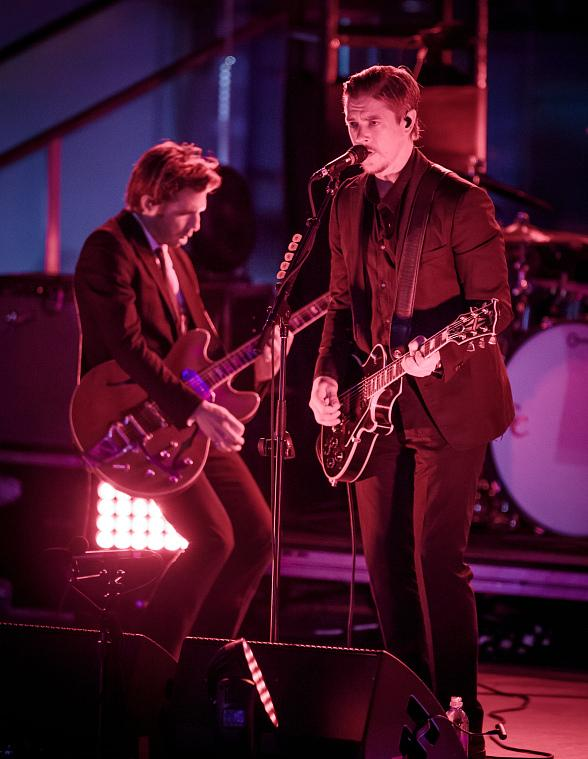 "Interpol Performs at Boulevard Pool at The Cosmopolitan of Las Vegas as part of ""Set Your Life To Music"""