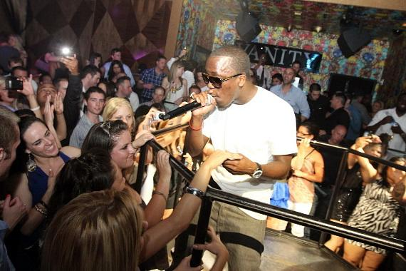 Iyaz performs at Vanity