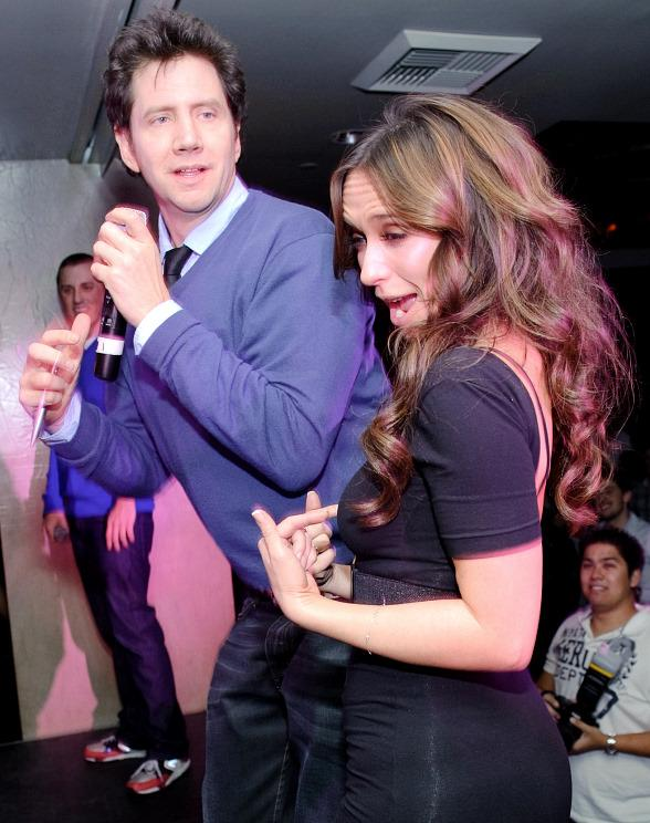 Jamie Kennedy, Jennifer Love Hewitt at TAO