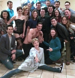 "Jersey Boys Cast Attends ""50 Shades! The Parody"" at Bally's Las Vegas"