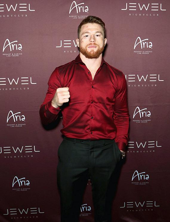 Canelo Alvarez at Official After-Fight Party at JEWEL Nightclub in Las Vegas
