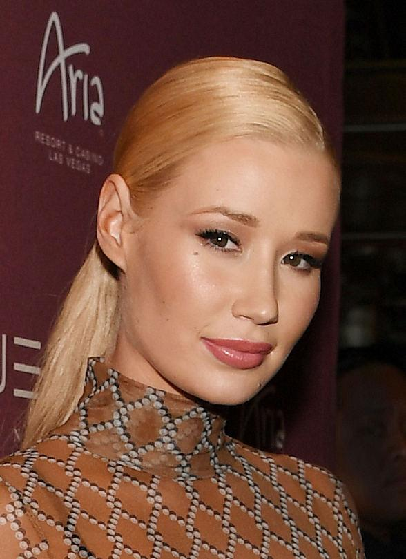 Iggy Azalea Performs Live at JEWEL Nightclub inside ARIA Resort & Casino