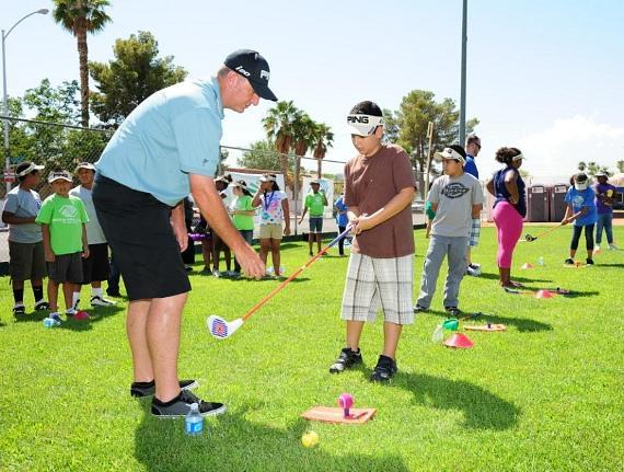 JT Shriners - Golf Clinic - Bill Lunde