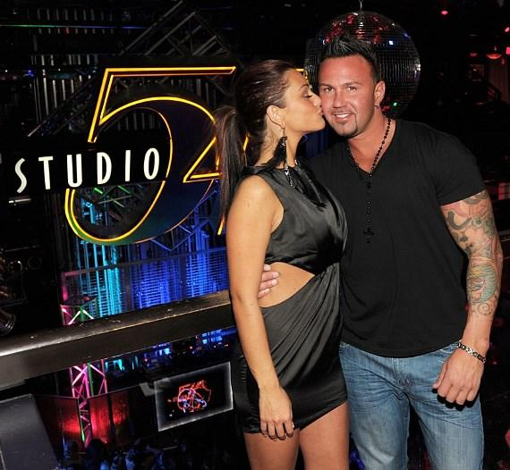 "Jenni ""JWoww"" Farley with boyfriend Roger Mathews"