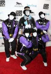 "Ricardo Laguna, FANTASY, Prince Amukamara, Sleepy Brown, Forrest Vickery and Ryan Guzman help Jabbawockeez Celebrate New Show ""JREAMZ"" at MGM Grand Las Vegas"