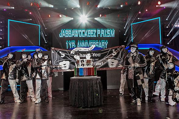 "Jabbawockeez Celebrate First Anniversary of ""PRiSM"""