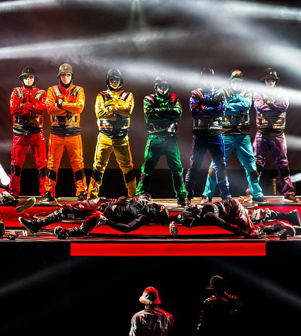 Jabbawockeez Celebrates 'PRiSM' First Anniversary at Luxor with Special Locals Ticket Offer
