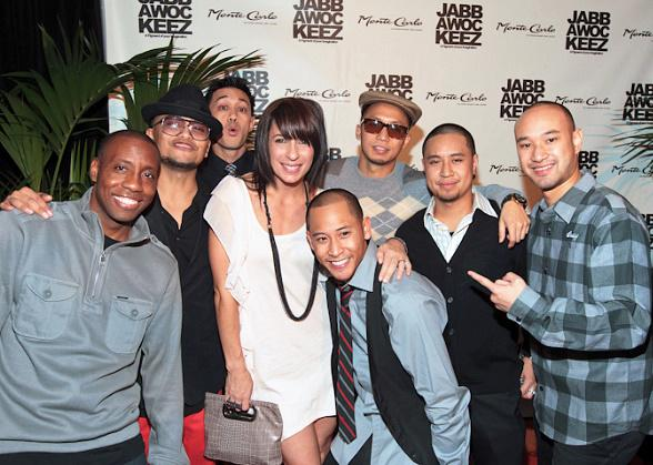 Jabbawockeez and Tabitha D'umo