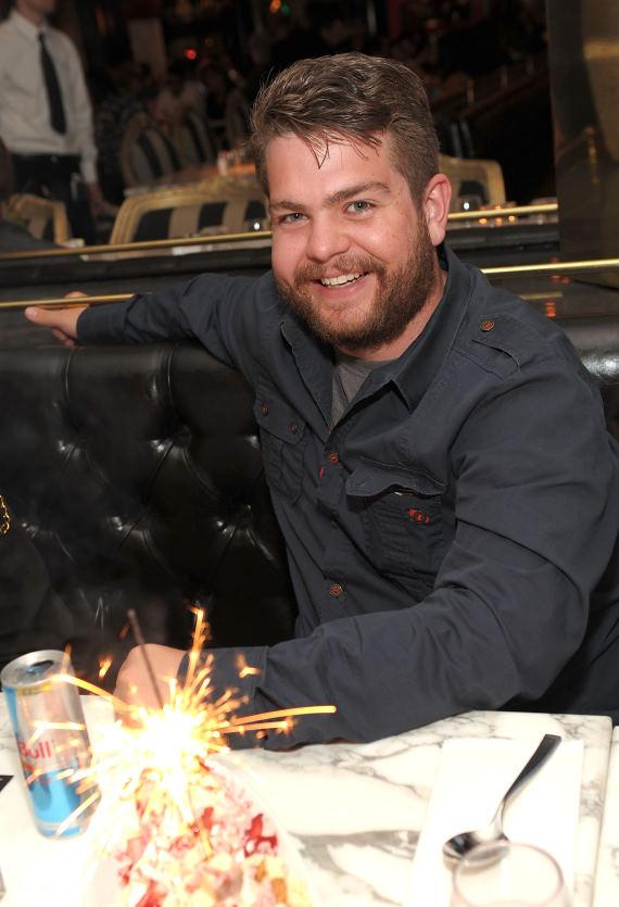 Jack Osbourne dining at Sugar Factory American Brasserie at Paris Las Vegas