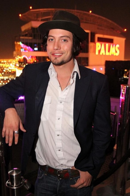 Jackson Rathbone poses on Ghostbar's patio