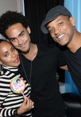 Jada and Will Smith Hit Sin City for Trey Smith's 22nd Birthday at Ghostbar Dayclub inside Palms Casino Resort