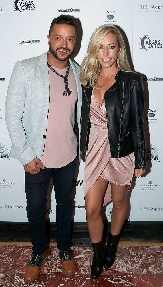 "Jai Rodriguez and Kendra Wilkinson at ""Vegas Cares"" Benefit at The Venetian Las Vegas"