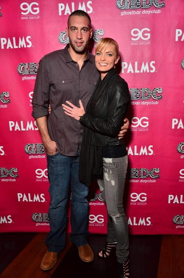 Jaime Pressley with boyfriend Hamzi Hijazi