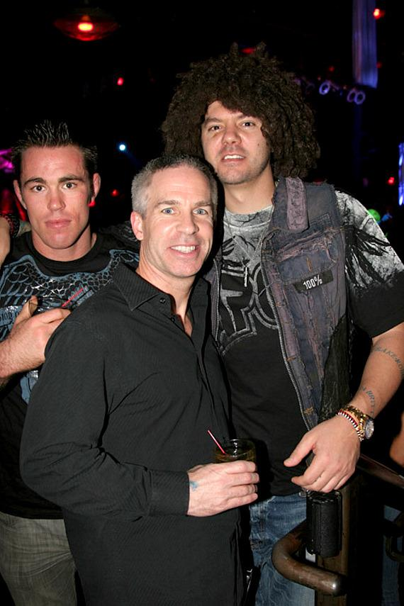 Jake Shields, Mark Post and  SkySkrape