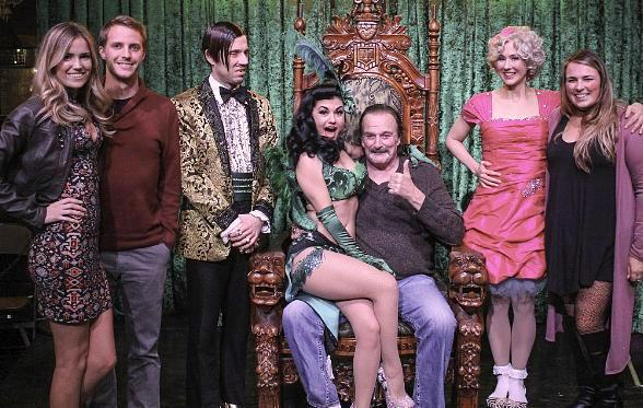 "WWE Hall of Fame Wrestler Jake ""The Snake"" Roberts at ABSINTHE at Caesars Palace"