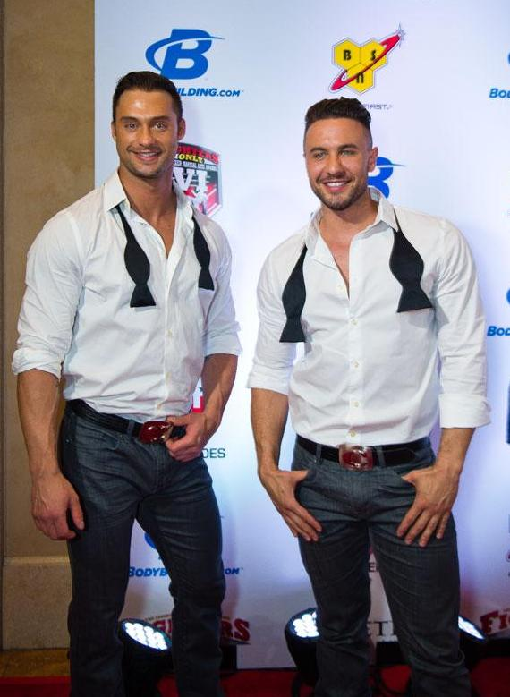 Chippendales James Davis & Ryan Stuart