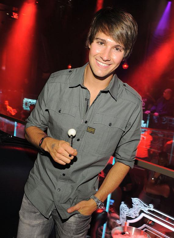 James Maslow celebrates 21st birthday at Chateau