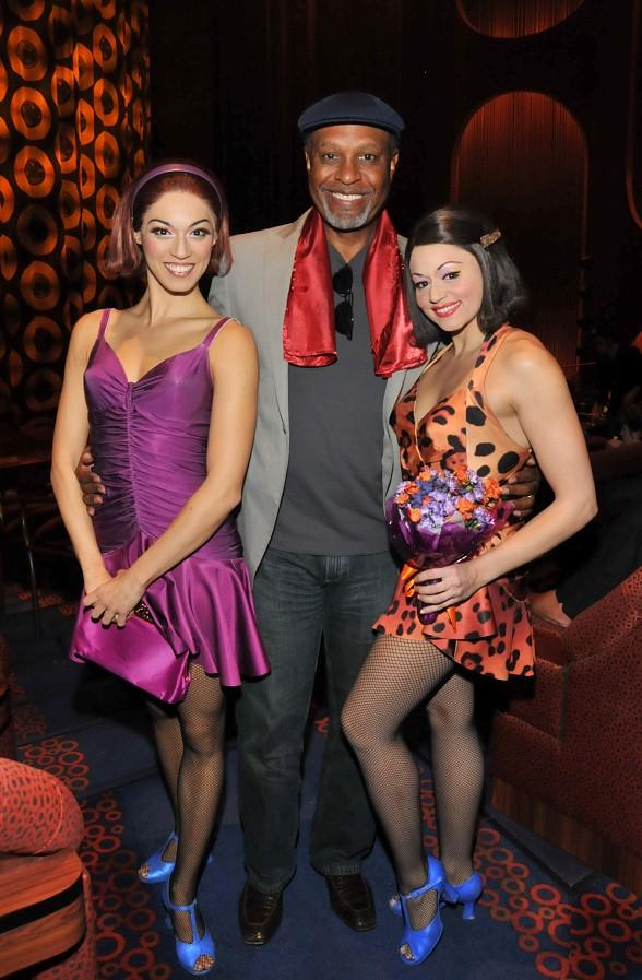 James Pickens Jr. of Grey's Anatomy Attends Viva ELVIS by Cirque du Soleil