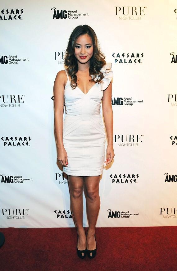 Jamie Chung at PURE Nightclub