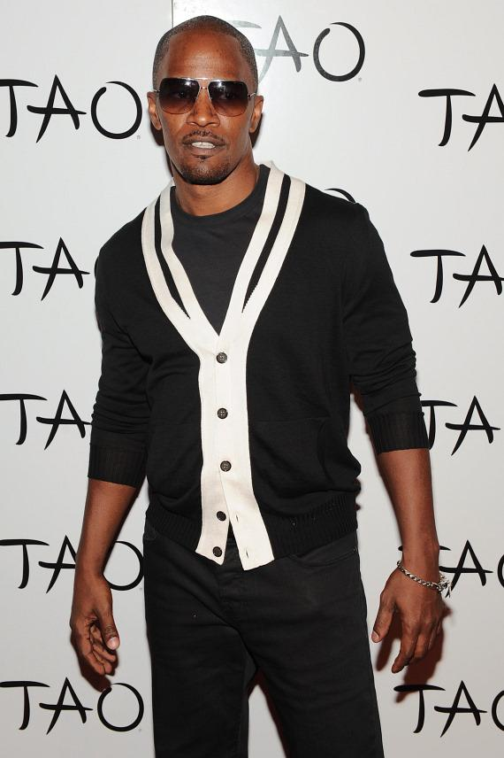 Jamie Foxx on TAO red carpet