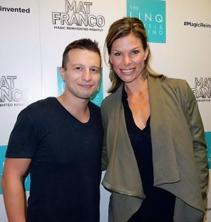 """NASCAR Reporter Jamie Little Attends """"Mat Franco - Magic Reinvented Nightly"""" at The LINQ Hotel & Casino"""