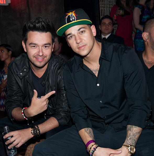 Rob Kardashian, Wilmer Valderrama and Amy Adams Party at TAO in Las Vegas
