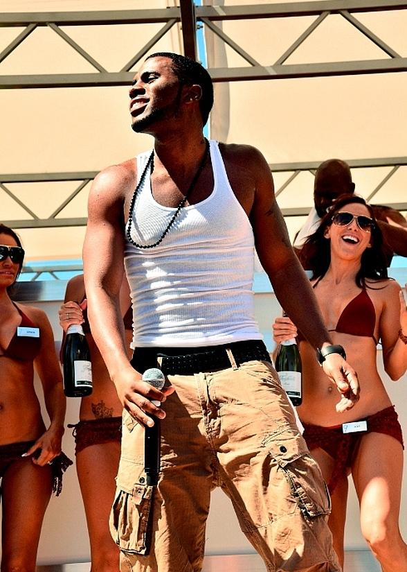 Jason Derulo Performs at Ditch Fridays at Palms Pool & Bungalows