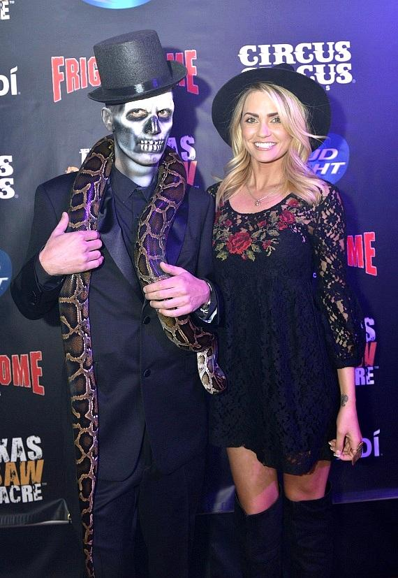 Jason Egan and Angel Porrino at Afterlife Ball