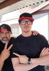 "Stars of Discovery Channel's ""Vegas Rat Rods"" & Fright Dome owner Jason Egan check out Zak Bagans' latest project"