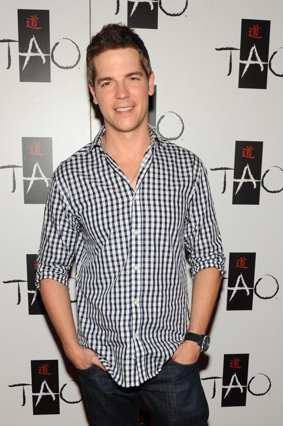 Jason Kennedy on TAO red carpet