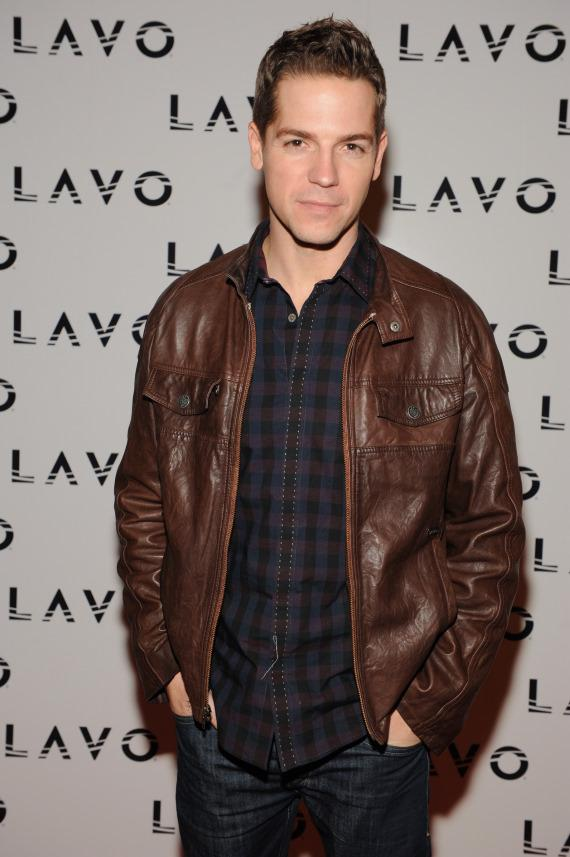 Jason Kennedy on LAVO red carpet