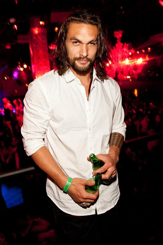 Jason Momoa at TAO