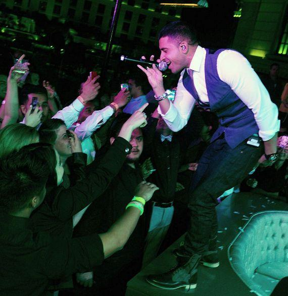Jay Sean performs at Chateau Nightclub & Gardens