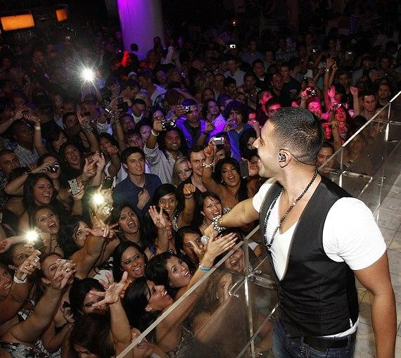 Jay Sean performs at PURE Nightclub