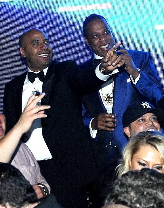 Jay Z Parties at Hakkasan Las Vegas