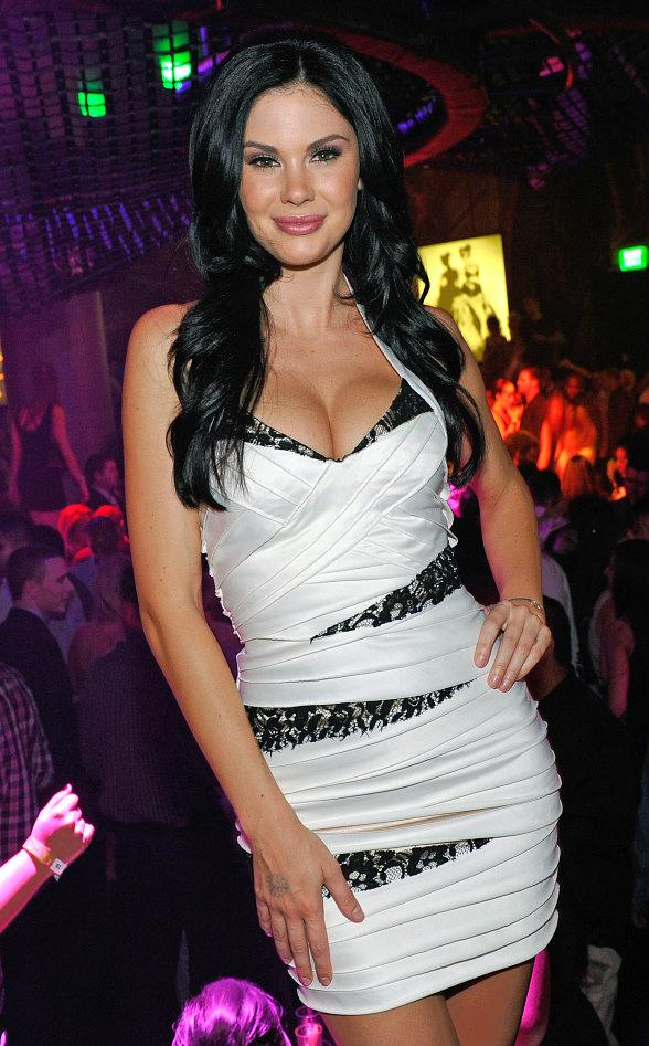 Jayde Nicole at Gallery Nightclub inside Planet Hollywood Resort &amp; Casino