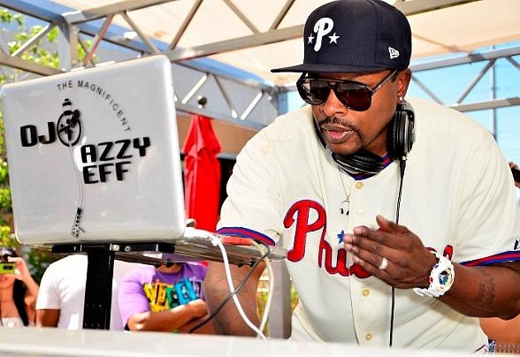 Jazzy Jeff performing at Palms